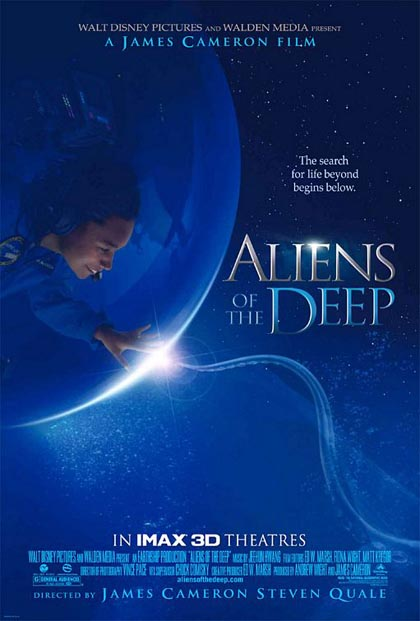 Locandina Aliens of the Deep