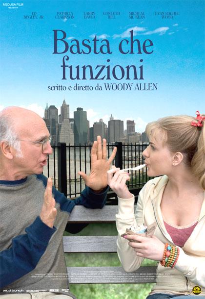 Locandina italiana Whatever Works - Basta che funzioni