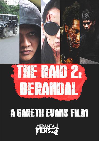 Locandina The Raid 2 - Berandal