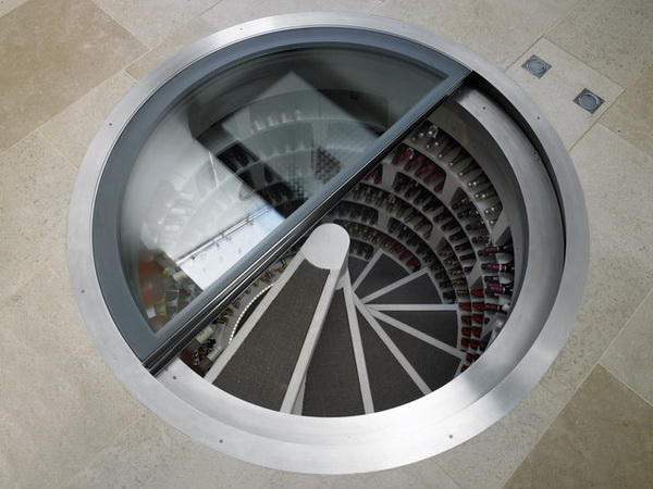 James bond wine cellar