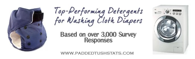 Top Performing Detergents for Washing Cloth Diapers