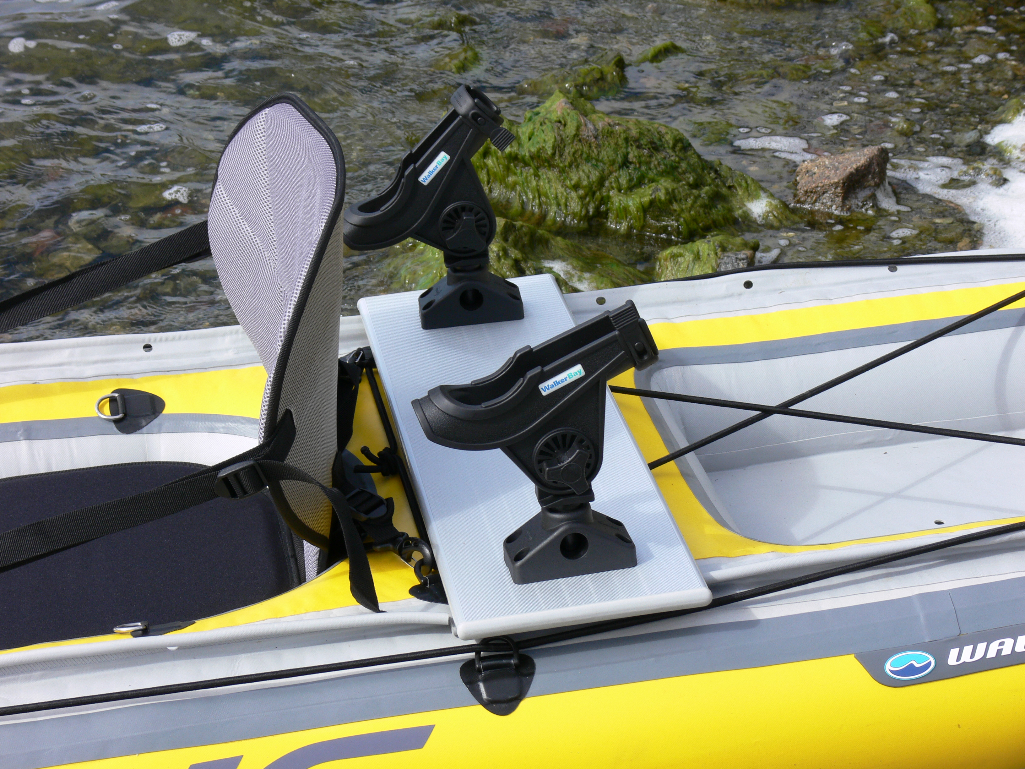 The best kayak rod holders for you paddle pursuits for Kayak fishing pole holder