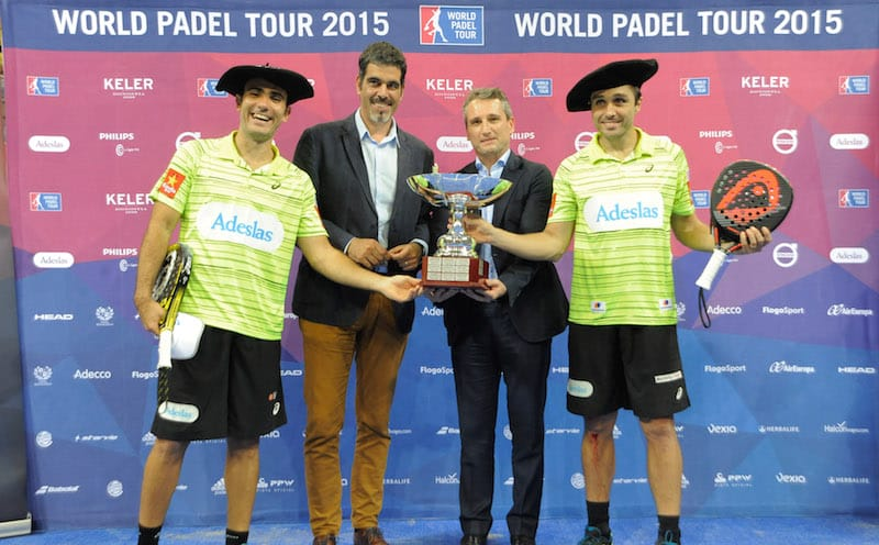 Campeones World Padel Tour Euskadi 2015