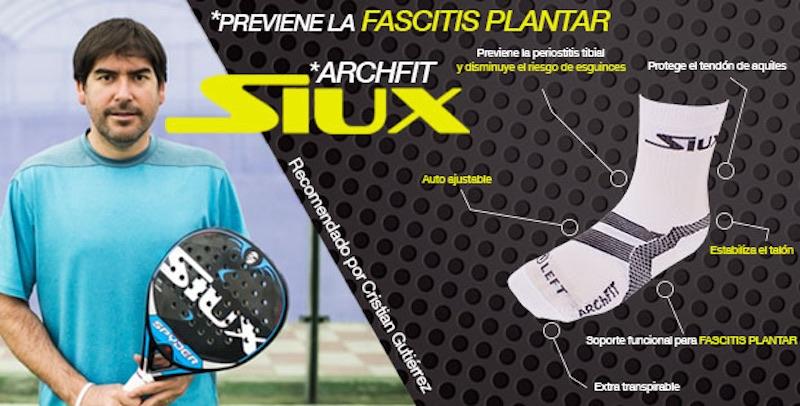Siux lanza los calcetines Arch Max ArchFit para ayudar a prevenir lesiones en el pie