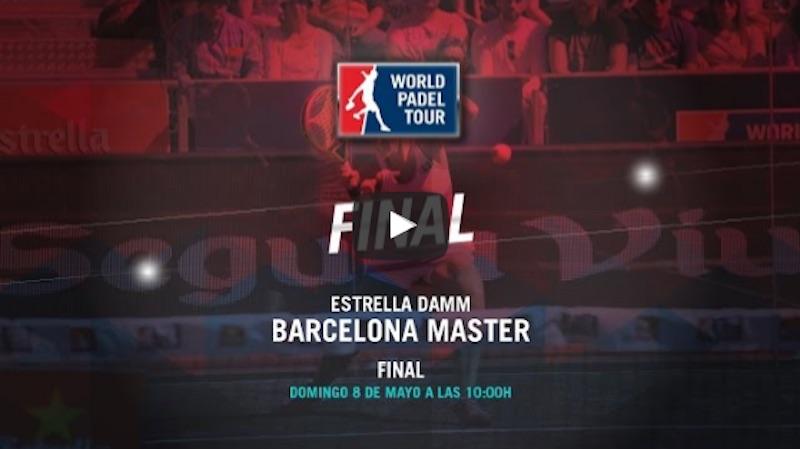 Final femenina Máster World Padel Tour Barcelona 2016 online
