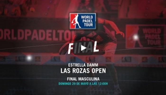Final masculina World Padel Tour Las Rozas 2016 en directo y online