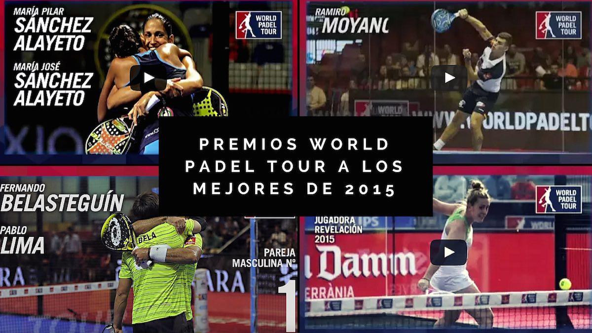 Premios World Padel Tour a los mejores de 2015