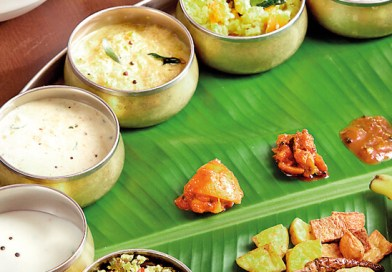 eating on a banana leaf- padham health news
