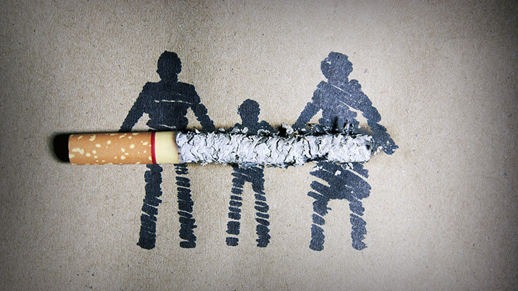 smoking causes infertility