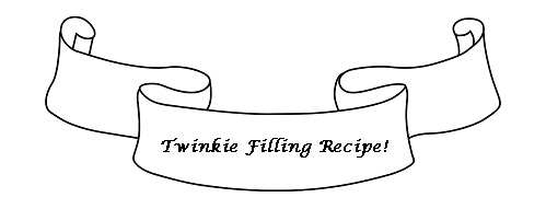 Twinkie Filling Recipe for Twinkie Cake