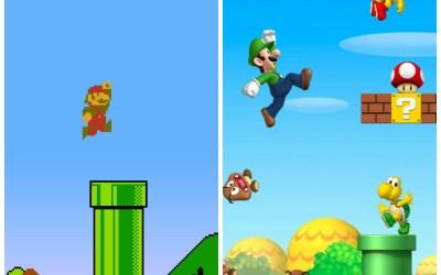 The nostalgic déjà vu of re-mastered games.