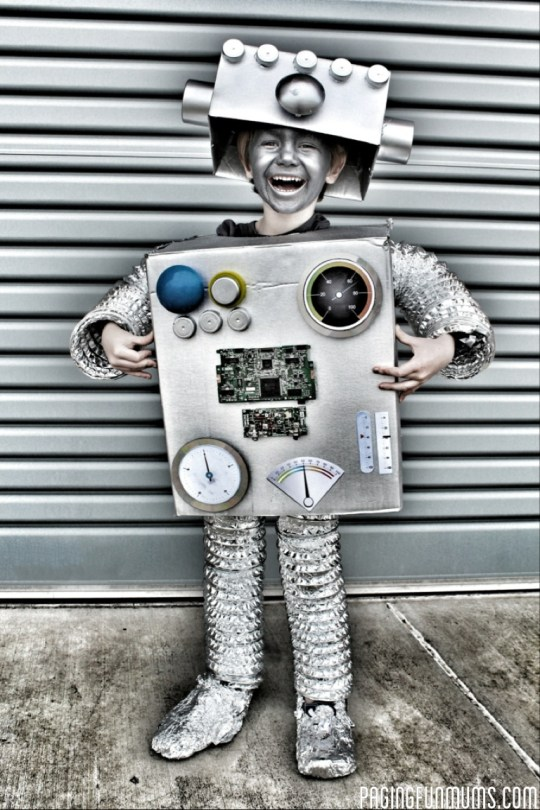 DIY Robot Costume