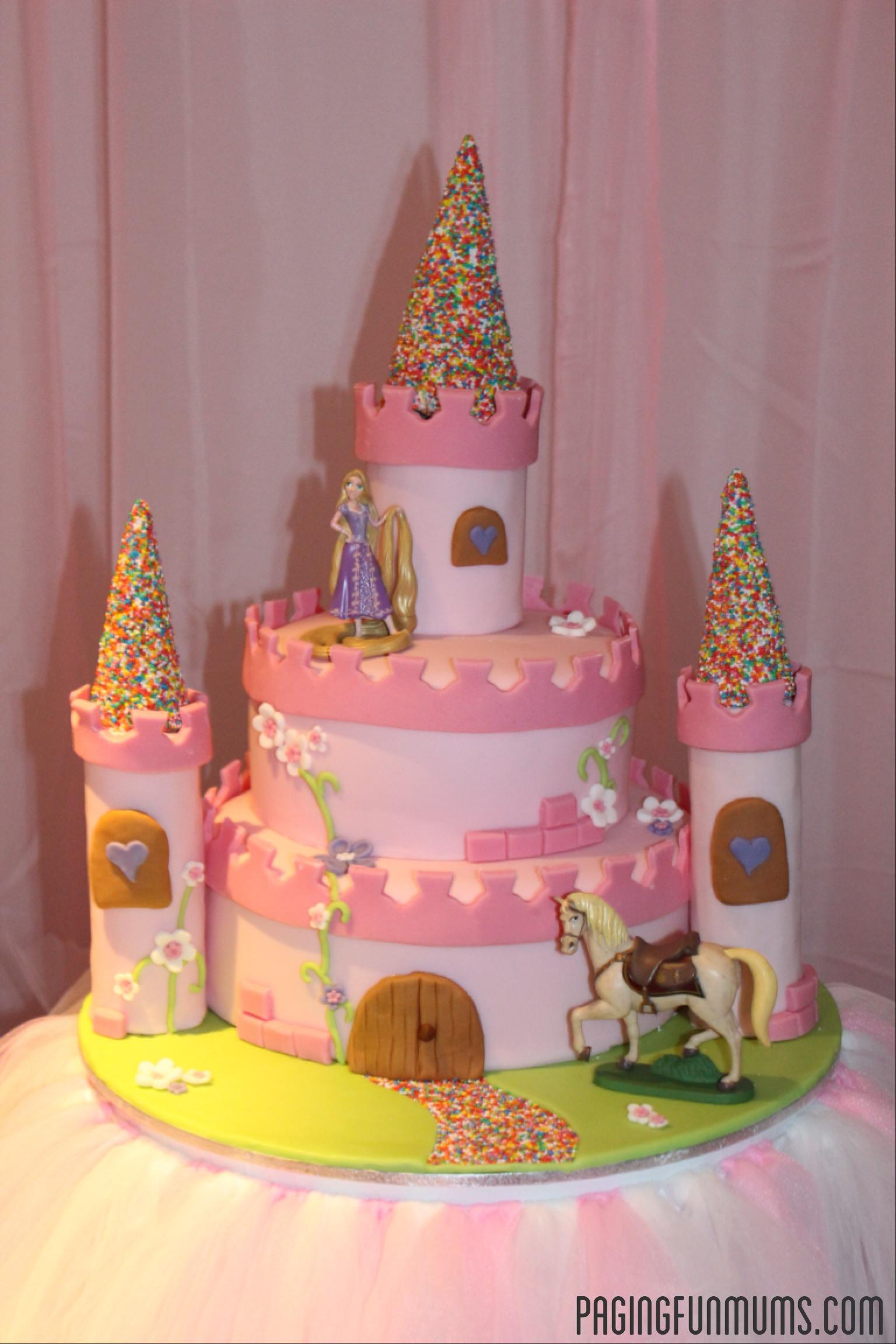 princess castle cake how to make a birthday castle cake