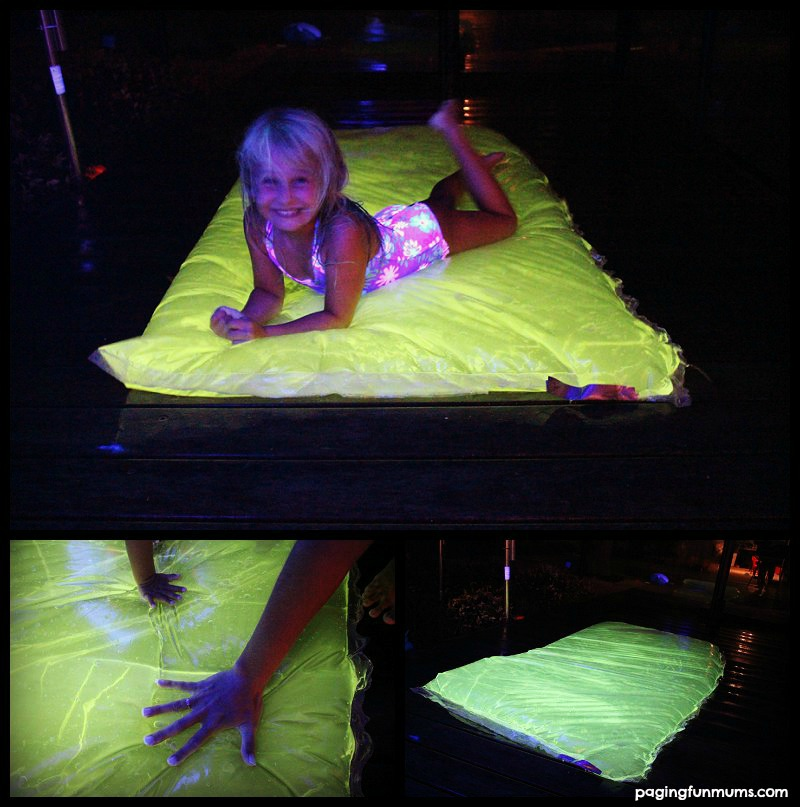 DIY Glowing Water Blob