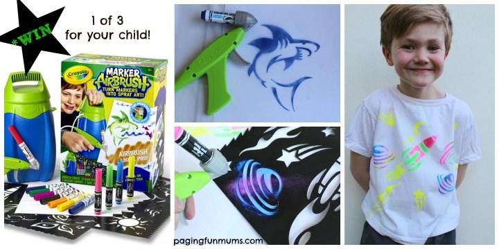 Crayola Marker Airbrush WIN