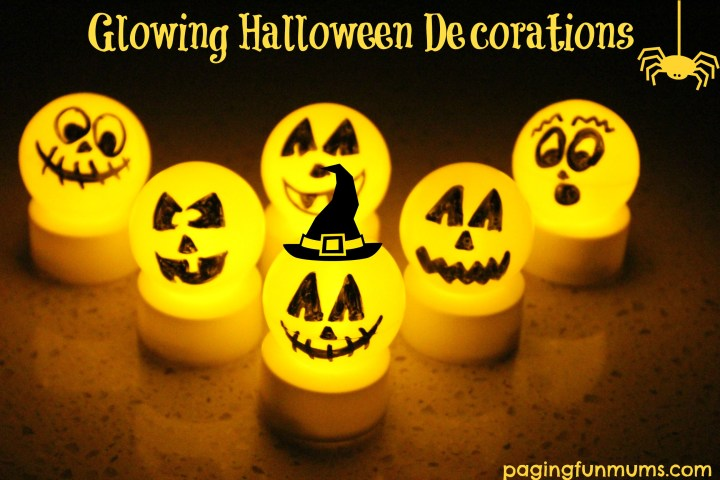 Glowing Halloween Decorations