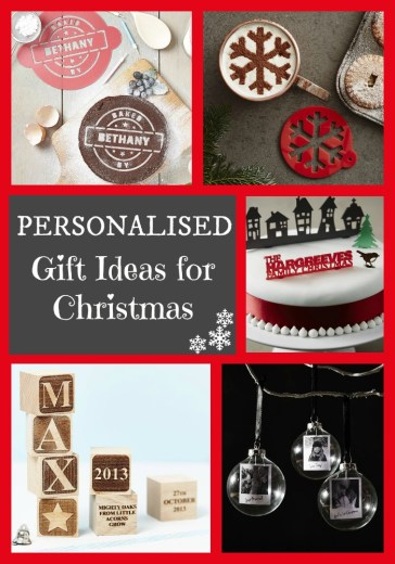 Personalised Gift Ideas for Christmas