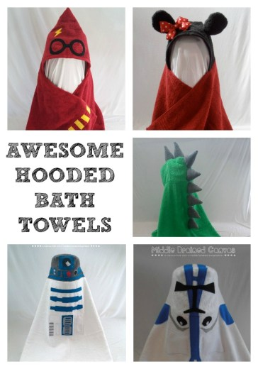 Awesome hooded bath towels! I need these in my life!