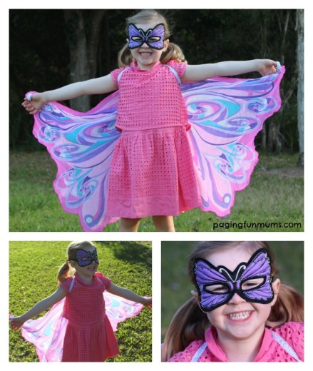 Stunning buterfly wings for the home dress up box!