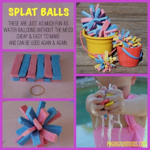DIY Splat Balls