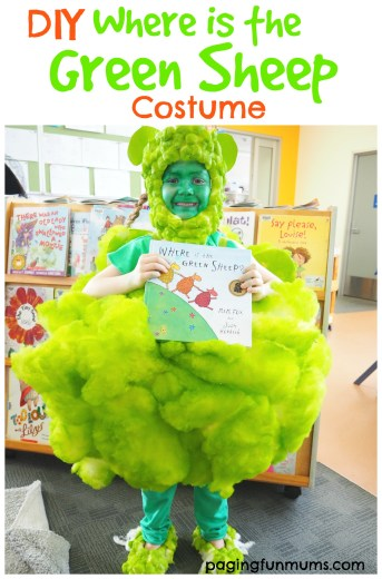 DIY Where is the Green Sheep Costume