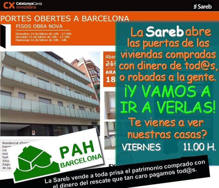 La sareb nos abre las puertas viernes 14 llucmajor for Pisos sareb barcelona