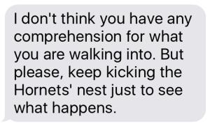 hornets text 3