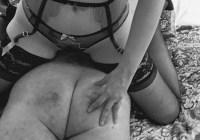 elita spanking 1 bw