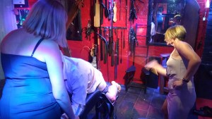 caned mistress