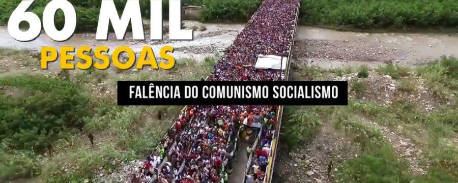Cidadãos venezuelanos tem invadido a cidade de Pacaraima, na divisa de Roraima com a Venezuela