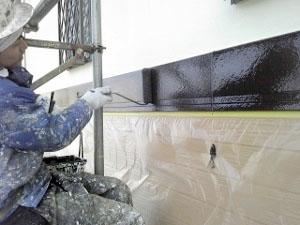 外壁幕板塗装2