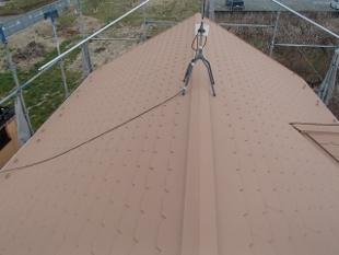 ガイナ 瀬谷区 コロニアル 屋根 塗装