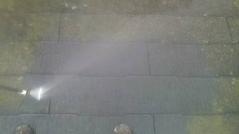 ガイナ 大磯町 コロニアル 屋根 塗装