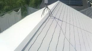 ガイナ 海老名市 コロニアル 屋根 塗装