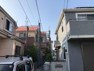 ガイナ 横浜市旭区 コロニアル 塗装