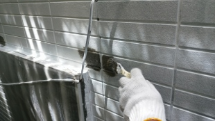 ガイナ 藤沢市 コロニアル 屋根 塗装