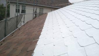 屋根 ガイナ塗装 (4)