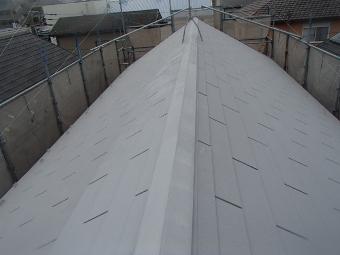ガイナ 大和市 屋根 コロニアル 塗装