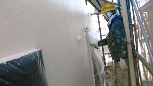 ガイナ 港南区 コロニアル 屋根 塗装