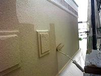 9モルタル壁ガイナ塗装上塗り(3層目)2