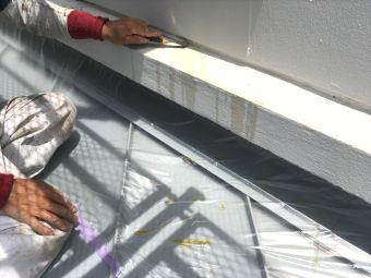RC外壁 下地調整 (2)