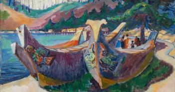emily-carr_war-canoes-alert-bay