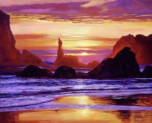david-lloyd-glover_sunset-at-oregon-rocks