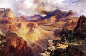 thomas-moran-canyon-artwork