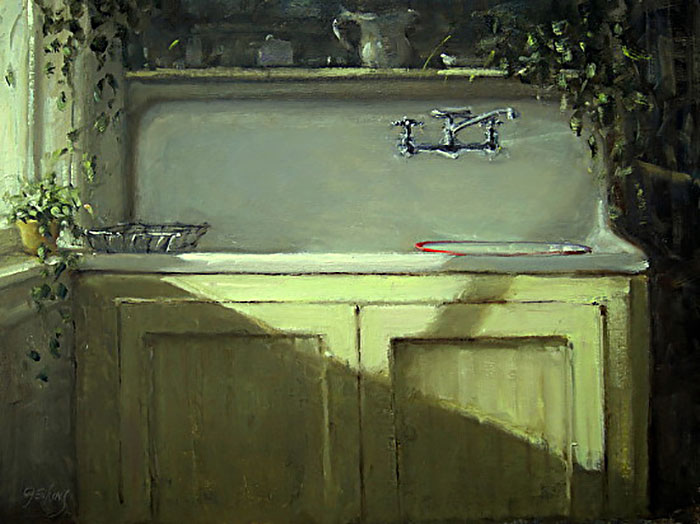 At the sink by Carol Jenkins, Ward, Colorado, USA