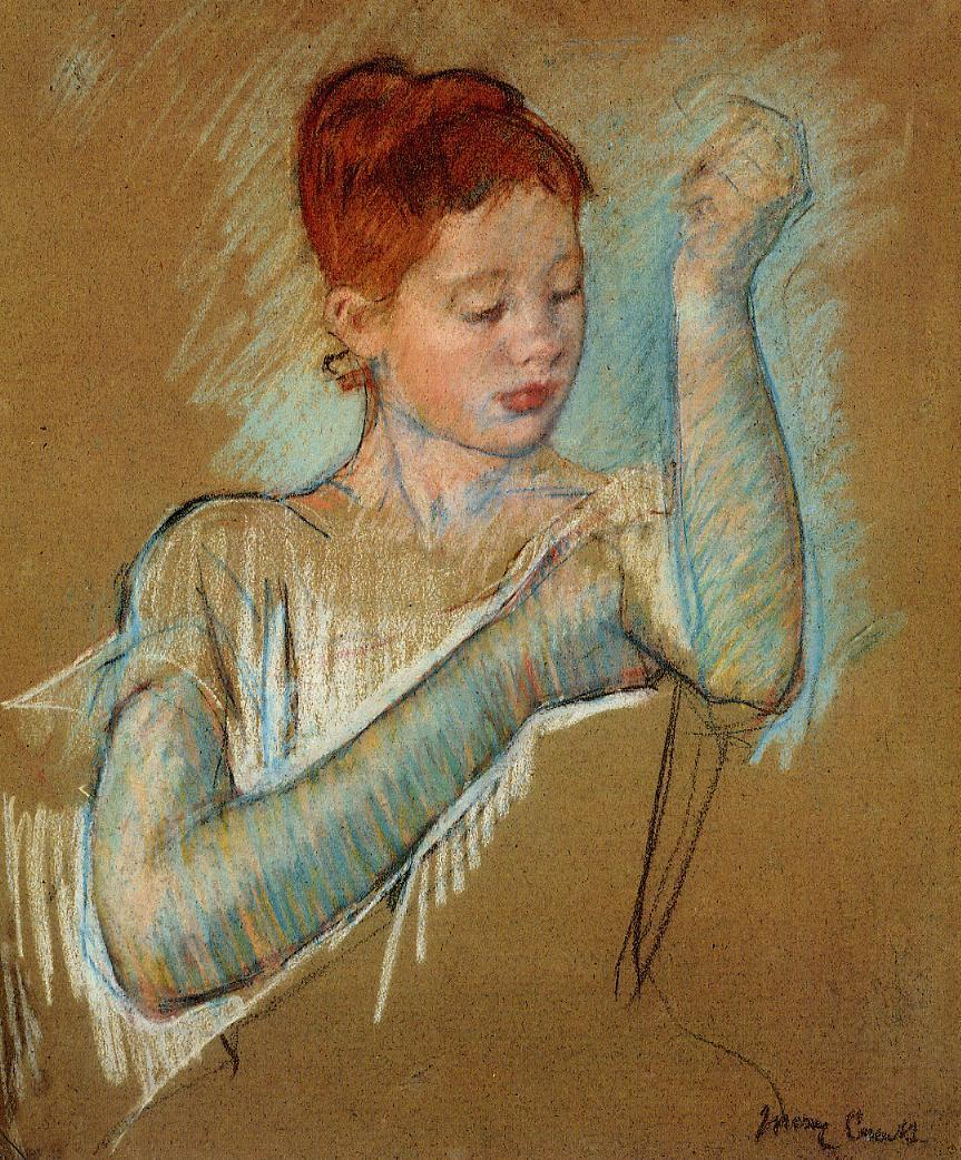 do i need a mentor mary cassatt the long gloves