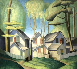 lawren-harris_Summer-houses_1926