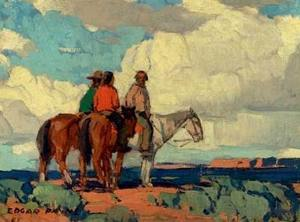 edgar-payne_horses-riders