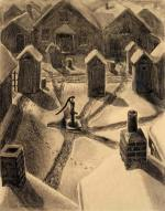 grant-wood_village-slums