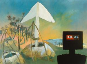 sidney-nolan_ned-kelly-at-the-mine